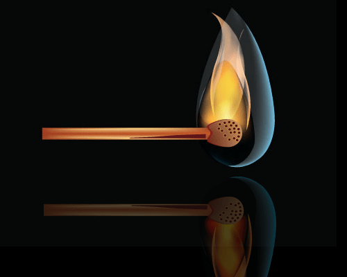 Flaming Using Illustrator