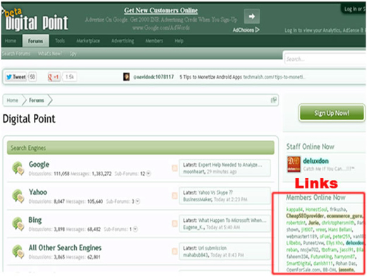 Spam filter in signatures| signature spam| Search engine genie