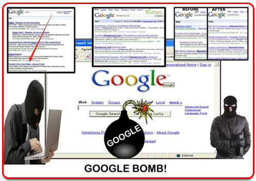 What is Google bomb