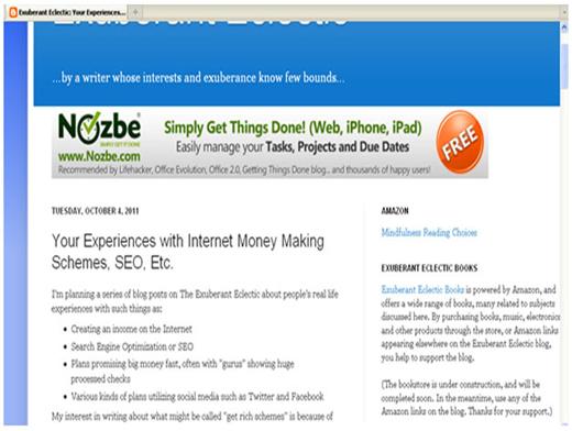 Internet money making scam scheme