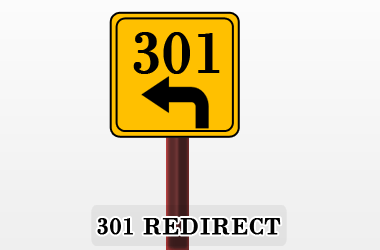 301 redirect search engine