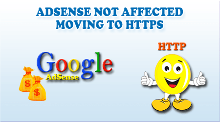 Adsense not affected moving to https .