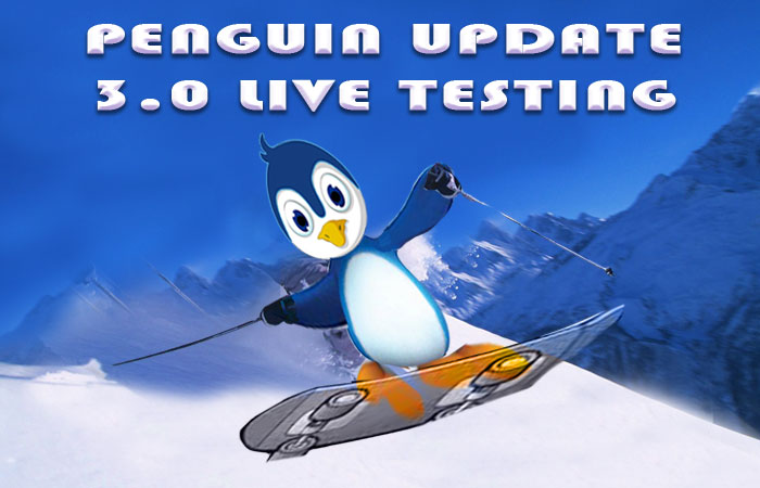 Penguin Update 3.0 live testing started