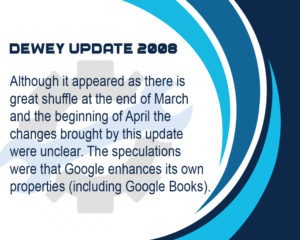 Google Dewey Update