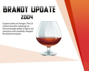 Google Brandy Update