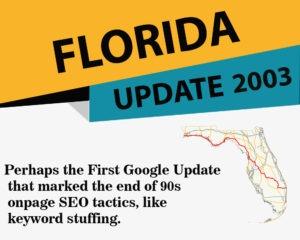 Google Florida Update
