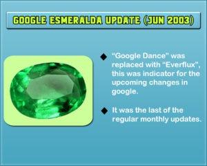 Google Esmeralda Update