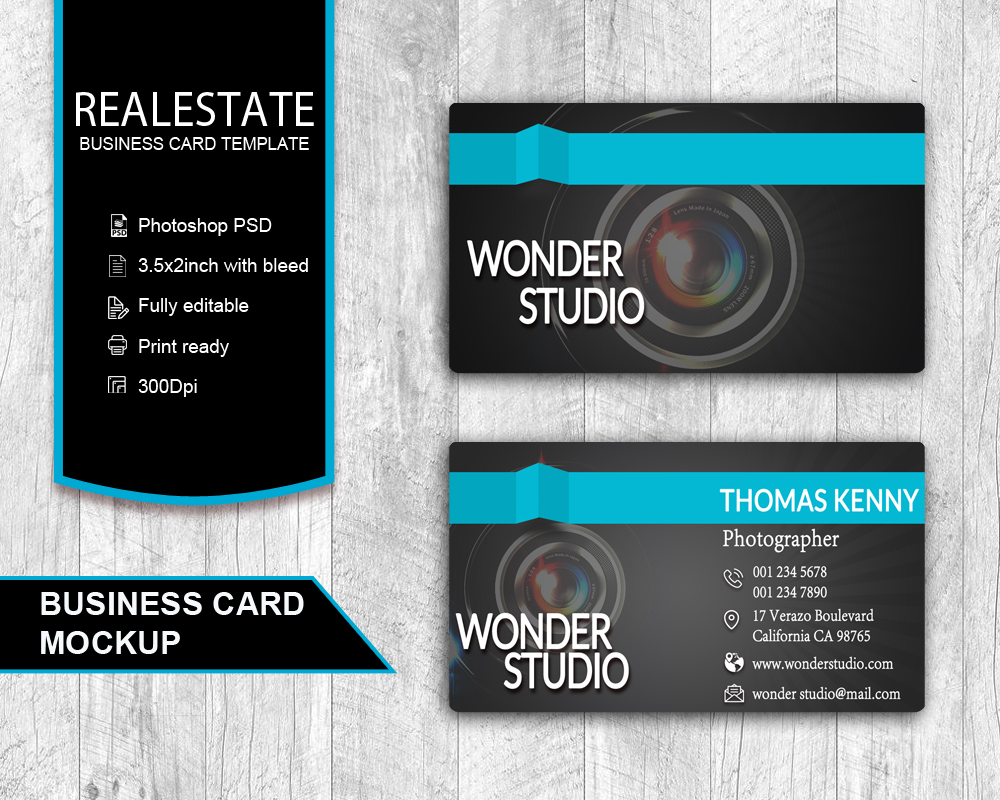 Business card designs real estate services reheart Images