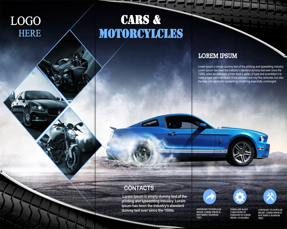 Brochure designs for Automobile brochure design