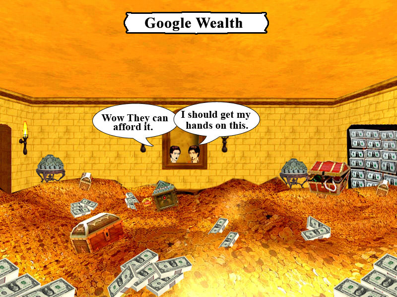 Google wealth