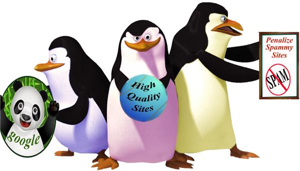 Google penguin update penalty
