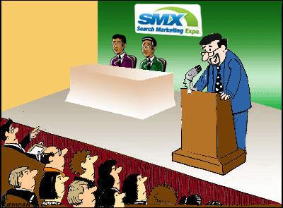 Google Matt Cutts Search Marketing Expo Conference speech